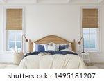 Bedroom In Coastal Style....