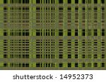 Background consisting of random horizontal and vertical intersecting lines - stock photo