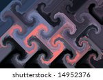 An abstract background pattern - stock photo