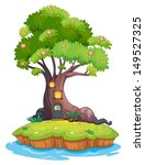 Illustration Of A Giant Tree I...