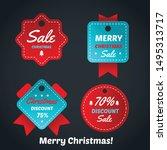 Christmas Sale Badge And Tag...