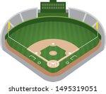 image illustration of baseball... | Shutterstock .eps vector #1495319051