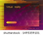landing page for a website... | Shutterstock .eps vector #1495359101