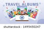 social network  internet... | Shutterstock .eps vector #1495450247