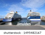 ijmuiden  the netherlands  ... | Shutterstock . vector #1495482167