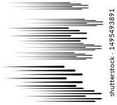 speed lines in arrow form ....   Shutterstock .eps vector #1495493891