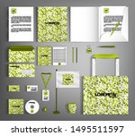 corporate identity template... | Shutterstock .eps vector #1495511597