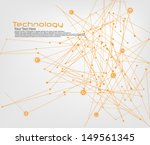 technology and communication... | Shutterstock .eps vector #149561345