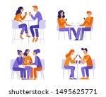vector illustration in flat... | Shutterstock .eps vector #1495625771