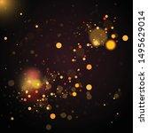 abstract defocused circular...   Shutterstock .eps vector #1495629014