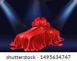 new car presentation ... | Shutterstock .eps vector #1495634747