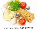 setting pasta with tomato and... | Shutterstock . vector #149567699