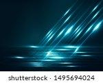 empty background scene. dark...   Shutterstock . vector #1495694024