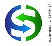 money logo   dollar logo   Shutterstock .eps vector #1495979417
