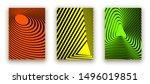 minimal cover design poster.... | Shutterstock .eps vector #1496019851