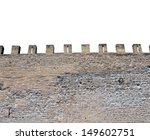 Exterior Of Medieval Castle...