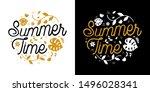 Summer Time Vector Design...