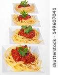 Spaghetti With Tomato Sauce An...