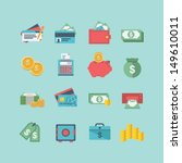 finance icons | Shutterstock .eps vector #149610011