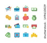 finance icons | Shutterstock .eps vector #149610029