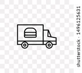 food delivery icon isolated on...