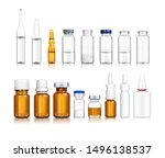 Ampoules And Medical Bottles...