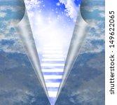 Stairway In Sky Is Revealed
