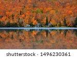 Lake Ouimet Landscape Near Mont ...