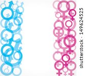 male and female symbol...   Shutterstock .eps vector #149624525