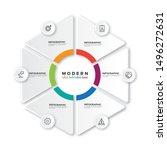 vector infographic label design ...   Shutterstock .eps vector #1496272631
