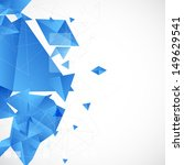 abstract blue futuristic...   Shutterstock .eps vector #149629541