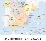autonomous communities of spain | Shutterstock .eps vector #149631071