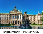Palace of Justice - Justizpalast in Munich, Bavaria, Germany