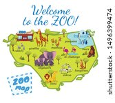 Welcome To The Zoo Map  Nature...