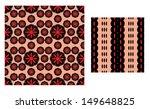 printed geometrical pattern...