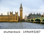 Big Ben And House Of Parliament ...