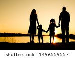 Silhouette family  including...