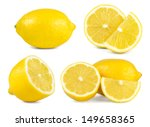 lemon set | Shutterstock . vector #149658365