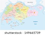 administrative divisions of... | Shutterstock .eps vector #149665739