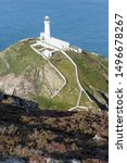 South Stack Lighthouse On The...