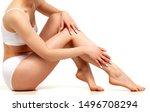 wellness and beauty concept ... | Shutterstock . vector #1496708294