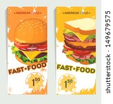 banners of fast food design.... | Shutterstock .eps vector #149679575