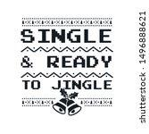 christmas graphic print  t... | Shutterstock .eps vector #1496888621