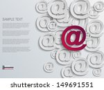 mail abstract background    Shutterstock .eps vector #149691551