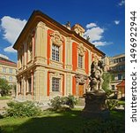 summerhouse Amerika, baroque palace - museum of composer A.Dvorak - Praha - Czech Republik