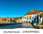 Hot Springs State Park,Thermopolis, Wyoming, USA.
