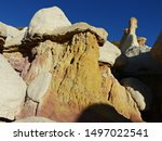 Mushroom Rock Formations And...