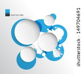 splat and circles background | Shutterstock .eps vector #149704691