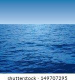 Sea Vector Background.