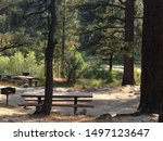 A Picnic Area Directly Beside...